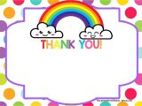 Unicorn Thank You Card Template Template for Thank You Card Best Of 12 Best Thank You Card