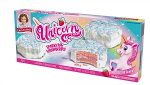 Unicorn Wrapping Paper Card Factory Little Debbie Unicorn Cakes Strawberry 10 Count 13 10 Oz