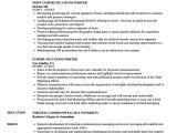 Unified Communications Engineer Resume Communications Writer Resume Samples Velvet Jobs