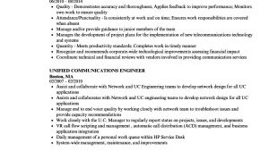 Unified Communications Engineer Resume Unified Communications Engineer Resume Samples Velvet Jobs