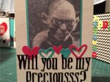 Unique Card Ideas for Boyfriend Lord Of the Rings Valentines Card with Images Funny
