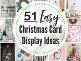 Unique Christmas Photo Card Ideas 51 Best Christmas Card Display Ideas the Heathered Nest