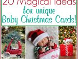 Unique Christmas Photo Card Ideas Baby Christmas Card Ideas 20 Pictures and Poses to Inspire
