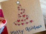 Unique Christmas Photo Card Ideas Ejemplo Tarjeta De Navidad Christmas Cards Handmade