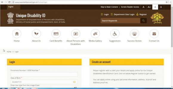 Unique Disability Id Card Download India Apply for Disability Card Unique Disability Identity Card Udid In Engllish