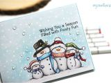 Unique Family Christmas Card Ideas Colorful Christmas Copic Marker Color Combo with Images