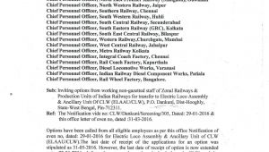 Unique Medical Identity Card Indian Railway Welcome to Clw Official Website