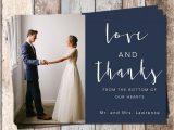 Unique Thank You Card Ideas Wedding Wedding Thank You Card Wedding Bridal Thank You Card Piy