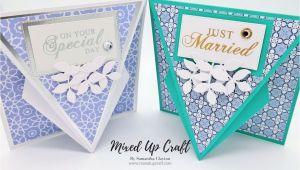Unique Twist Pop Up Card Arrow Fold Card with Images Fancy Fold Cards Fun Fold