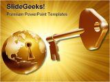 Unlock Powerpoint Template Unlock World Business Powerpoint Template 0910