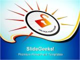 Unlock Powerpoint Template Unlock Your Future Security Powerpoint Templates and