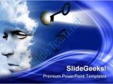 Unlock Powerpoint Template Unlock Your Mind Future Powerpoint Templates and