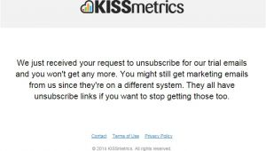 Unsubscribe Email Template 12 Unsubscribe Email Templates that Don 39 T Annoy Subscribers