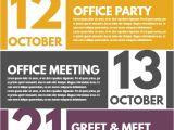 Upcoming events Flyer Template Corporate Newsletter event Calendar Flyer Template