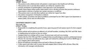 Urgent Care Resume Sample Urgent Care Resume Samples Velvet Jobs