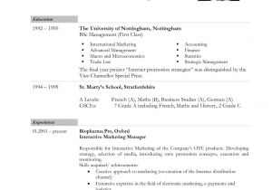 Us Resume Sample Cv Template Us Srinath Resume Writing Services