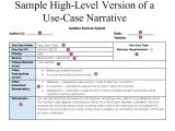 Use Case Narrative Template Doc Use Case Narrative Template Doc Image Collections