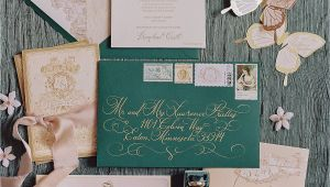 Use Of Old Marriage Card the Best Vintage Wedding Invitations Martha Stewart Weddings