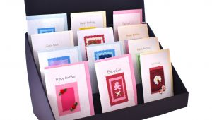 Used Greeting Card Display Stand for Sale 4 Tier Cardboard Greeting Card Display Stand Standstore