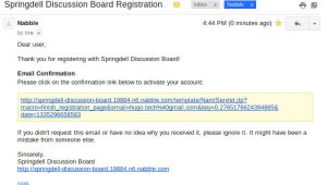 User Registration Email Template Free Support Not Receiving Registration Email for My