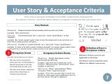 User Story Template Pdf User Stories Template Agile Spreadsheet Project Charter