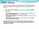User Story Template Pdf User Story Template Cyberuse
