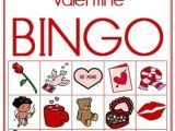 Valentine Bingo Template 7 Best Images Of Printable Valentine Bingo Game Free