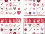 Valentine Bingo Template Valentine S Day Bingo Stamping together at Monika 39 S