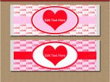Valentine Candy Bar Wrapper Templates Printable Candy Bar Wrappers Chocolate Bar Labels