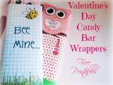 Valentine Candy Bar Wrapper Templates Valentine S Day Printable Candy Bar Wrappers Free