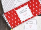 Valentine Candy Bar Wrapper Templates Valentine S Day Printable Chocolate Bar Wrappers