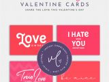 Valentine Card for A Friend Printable Valentine Day Cards 4 Funny Cute Printable