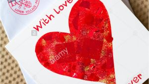 Valentine Card From Village Of Lover Valentine Day Card Old Stock Photos Valentine Day Card Old