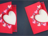 Valentine Card Kaise Banate Hai Beautiful Handmade Valentine S Day Card Idea Diy Greeting Cards for Valentine S Day Card