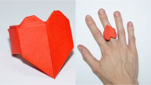 Valentine Card Kaise Banate Hai Diy Paper Crafts Ideas for Valentines Day Heart Ring Julia Diy