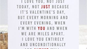 Valentine Card Not On the High Street Always Valentine S Day Card
