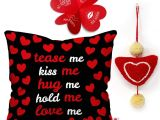 Valentine Card Quotes for Him Buy Indigifts Valentine Gift for Boyfriend Love Tease Me
