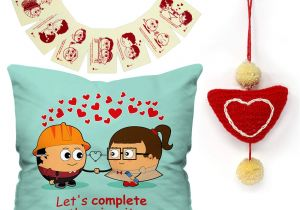 Valentine Card Quotes for Him Buy Indigifts Valentines Day Love Quote Cute Engineer Couple