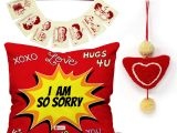 Valentine Card Quotes for Him Buy Indigifts Valentines Day sorry Quote Pop Art Blast Of