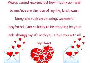Valentine Card Quotes for Him to My Wonderful Boyfriend Valentine Card