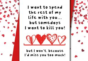 Valentine Card Sayings for Husband Miss You too Much A I D D A I D somedays Missyoutoomuch