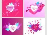 Valentine Day Card Name Edit Happy Valentines Day Cards Template with In Love isolated In