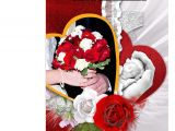 Valentine Day Card with Name and Photo Rose Day Valentines Day Greeting Card Buy Online at Best