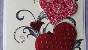 Valentine Day Greeting Card Handmade Awesome 65 Creative Valentine Cards Homemade Ideas Https