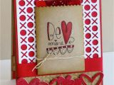 Valentine Day Greeting Card Handmade Mft S January Countdown Day 4 Me Mine with Images Easy
