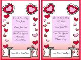 Valentine Poem Template 6 Best Images Of Free Printable Valentine Day Flyer