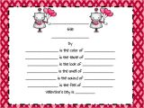 Valentine Poem Template Valentine 39 S Day Poetry Grammar Review Fancy Free In