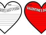 Valentine Poem Template Valentine 39 S Day Teaching Resources Lesson Plans for
