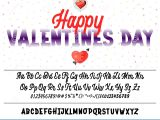 Valentine S Card for Your Love Valentine S Day the Font is Bold Handwriting for Love