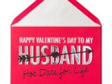Valentine S Card Next Day Delivery Hot Date for Life Valentine Card for Husband He S Your